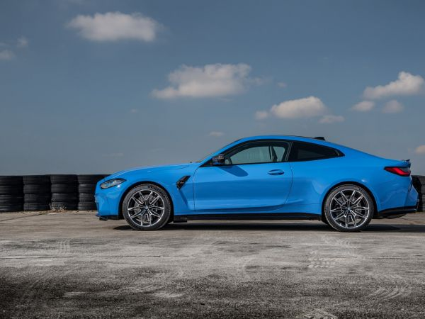 BMW M4 Competition Coupe with M xDrive