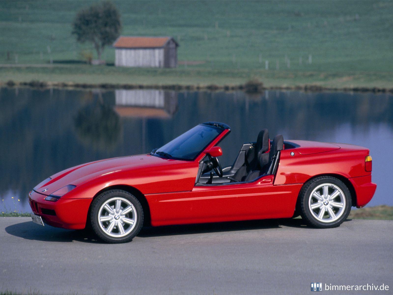 Model Archive for BMW models · BMW Z1 roadster · bmwarchive.org