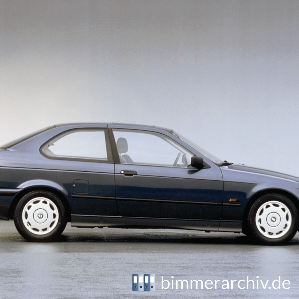 Model Archive For Bmw Models 183 Bmw 316i Compact