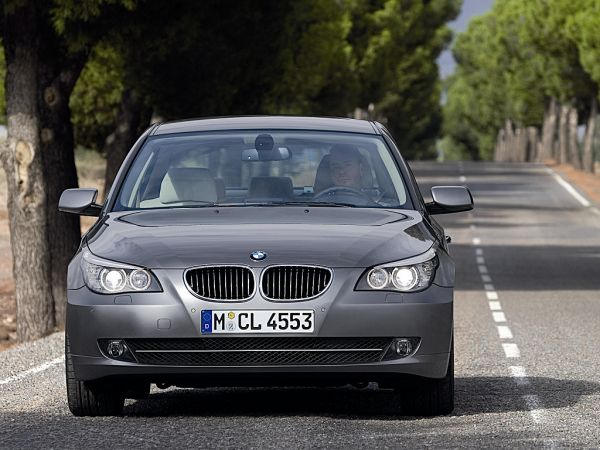 BMW 5 Series - model update 2006