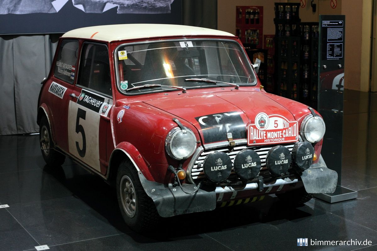 Model Archive For Bmw Models Austin Mini Cooper S Works Rallye