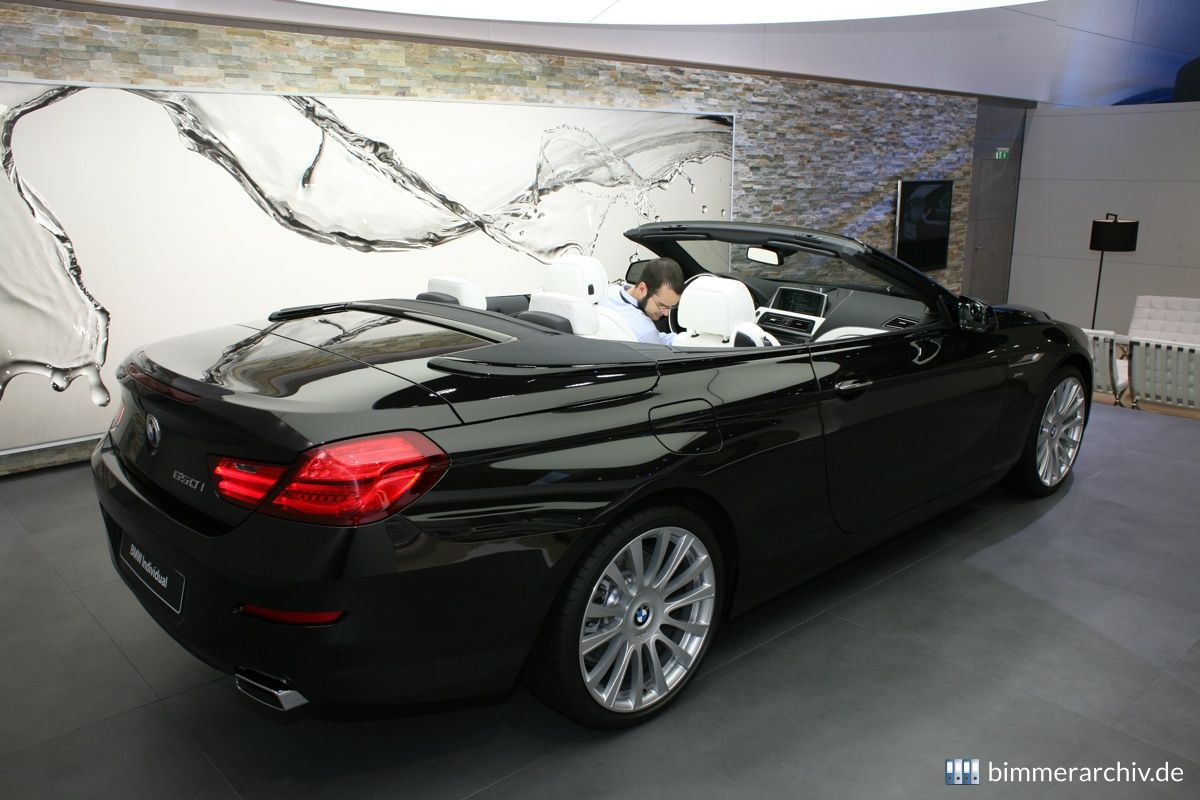 Model Archive For Bmw Models Bmw 650i Cabrio Individual