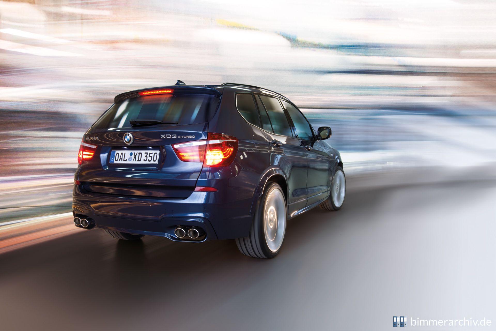 Model Archive for BMW models · BMW Alpina XD3 BiTurbo · bmwarchive.org