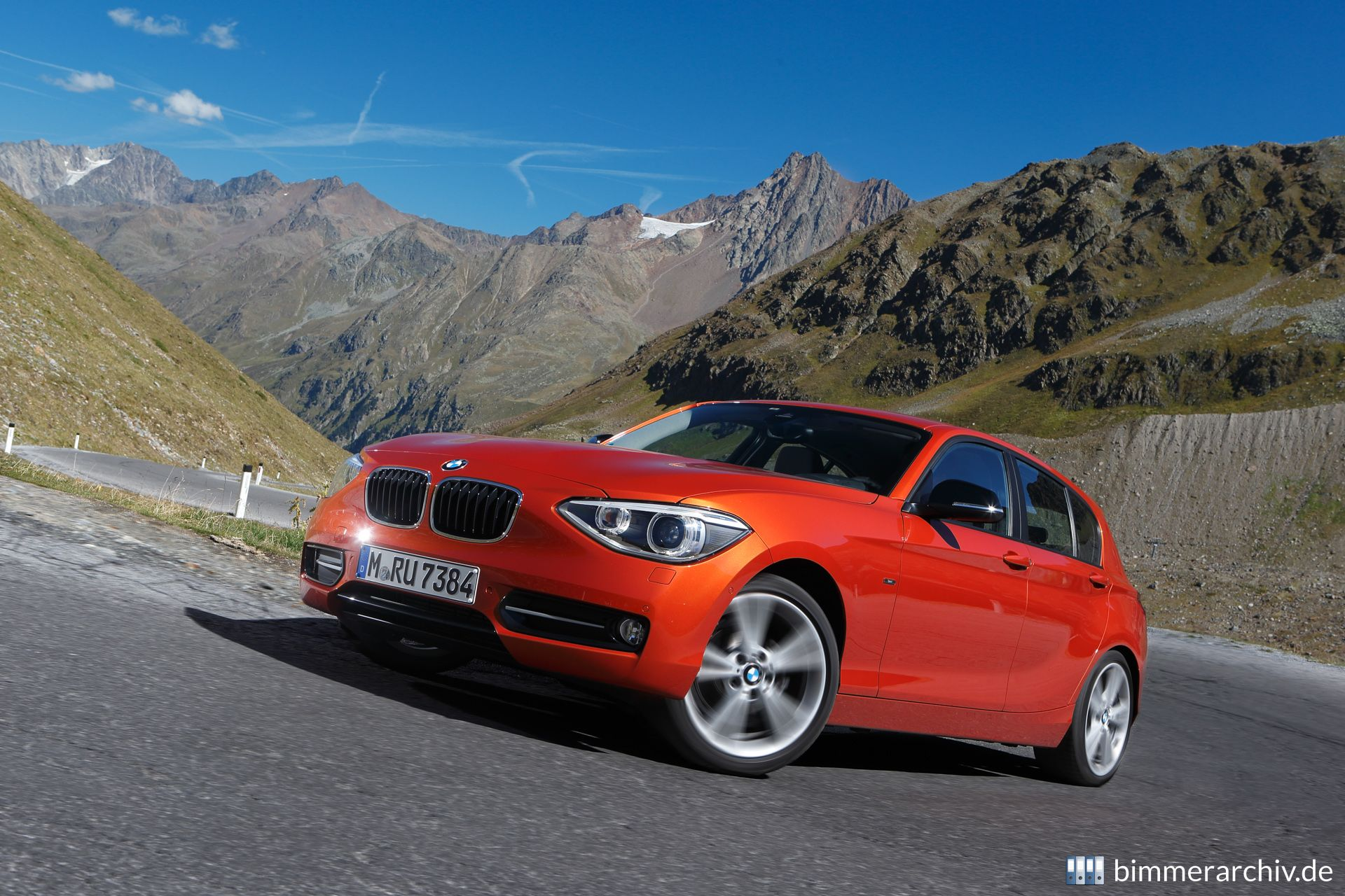 BMW 1 Series with xDrive