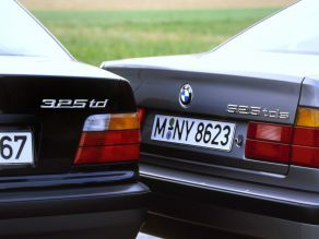 BMW 325td and 525tds