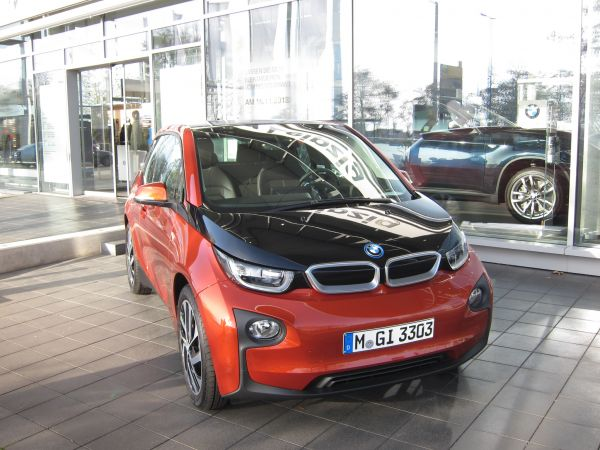 BMW i3 in Leipzig