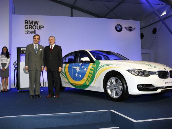 Launch of the BMW 320i ActiveFlex in Brazil