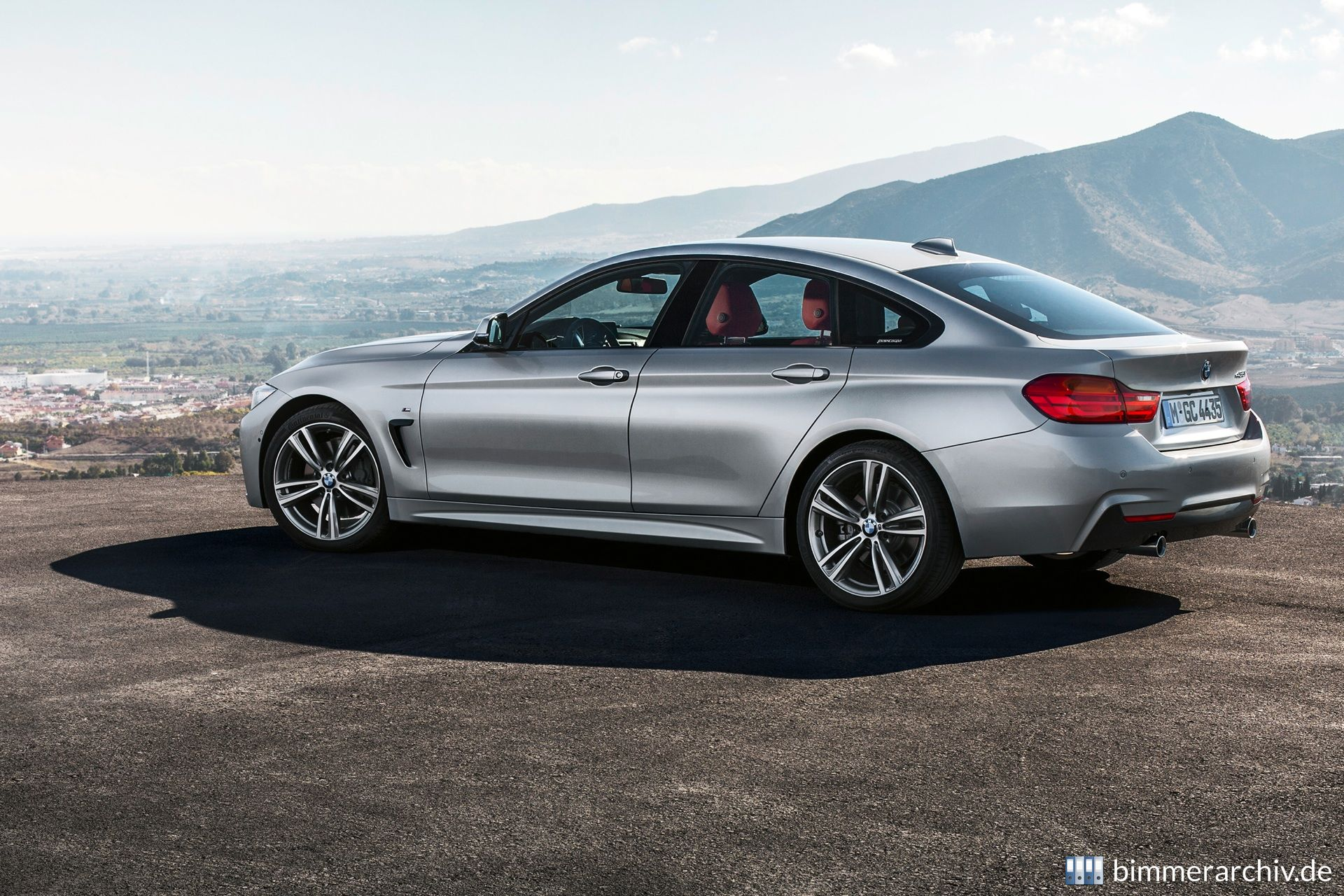 bmw model archive bmw 435i gran coupe m sports package. Black Bedroom Furniture Sets. Home Design Ideas