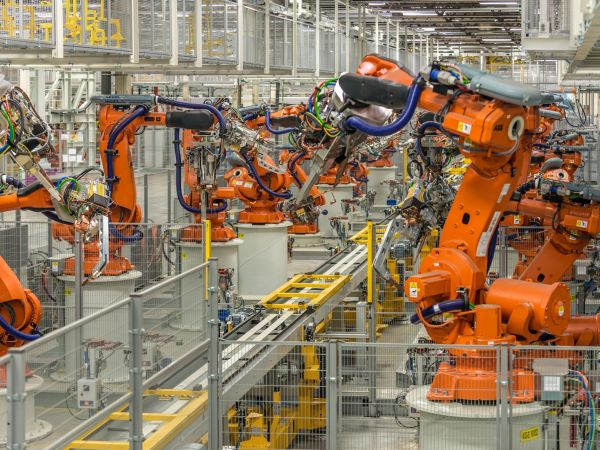 body construction in the VDL Nedcar plant in Born