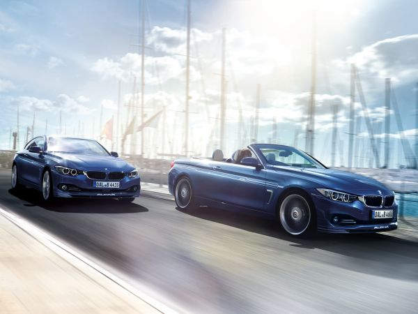 BMW Alpina B4 Bi-Turbo Coupe and Convertible