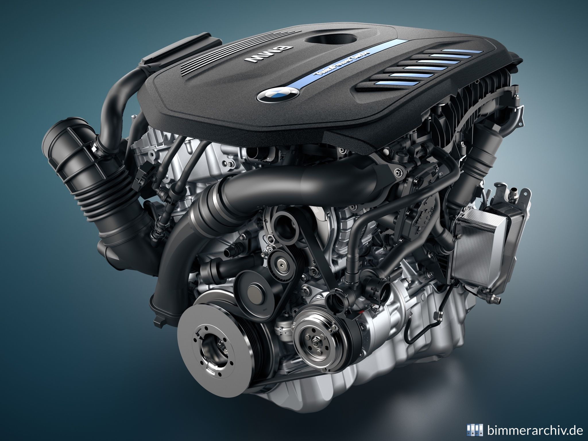 BMW TwinPower Turbo Six Cylinder Petrol Engine
