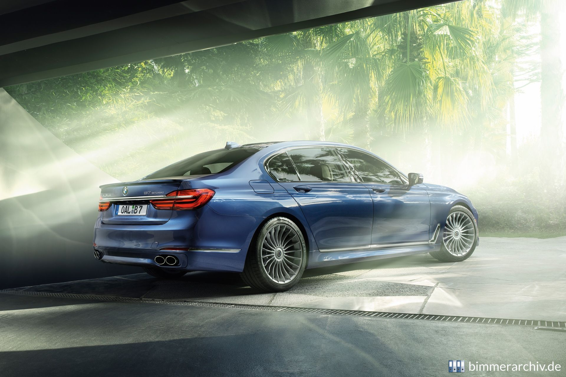 Model Archive For BMW Models BMW Alpina B BiTurbo Bmwarchiveorg - What is a bmw alpina b7