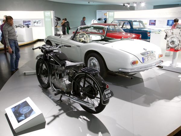 BMW R 24 and BMW 507