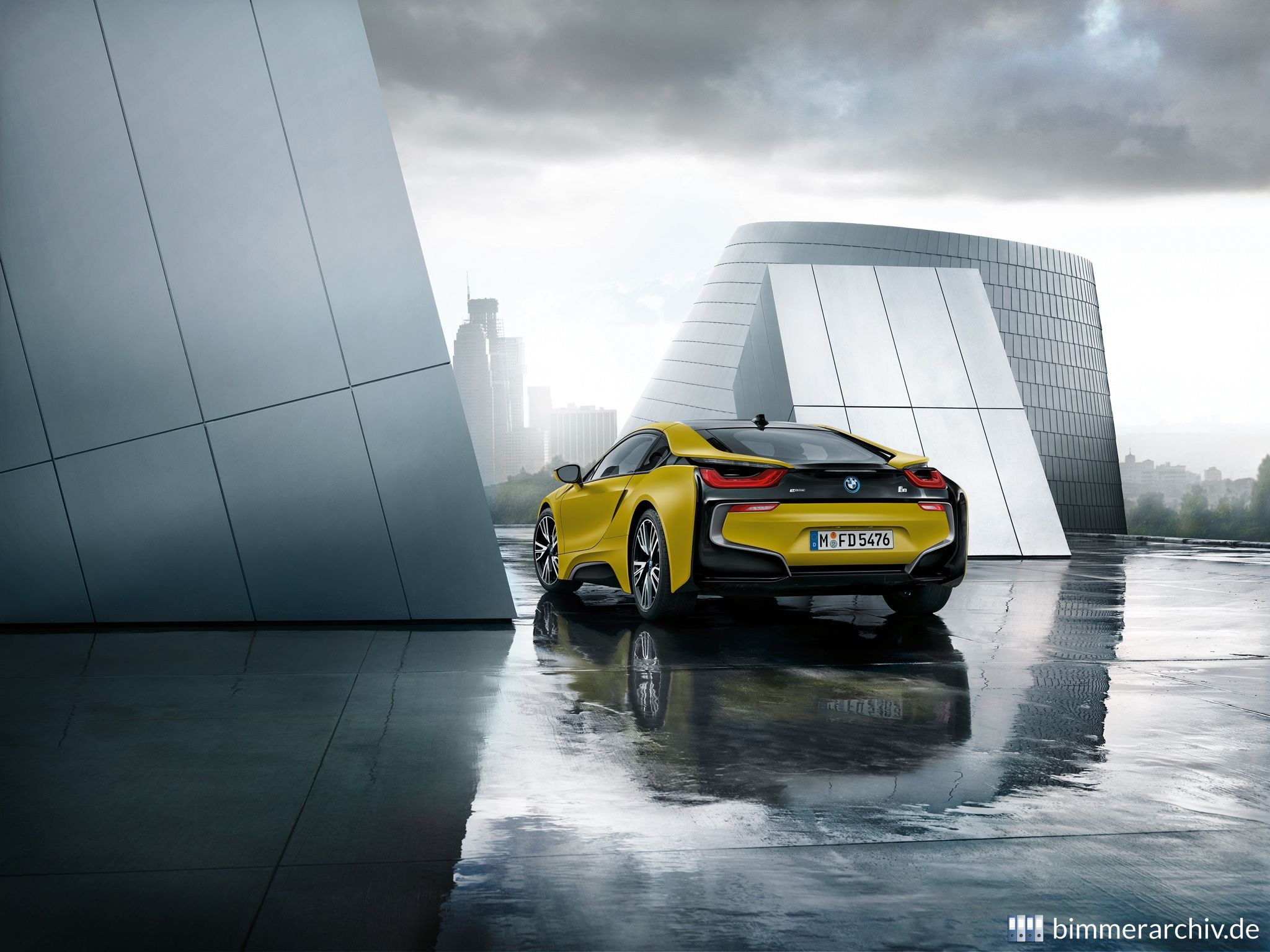 Model Archive For Bmw Models Bmw I8 Protonic Frozen Yellow Edition