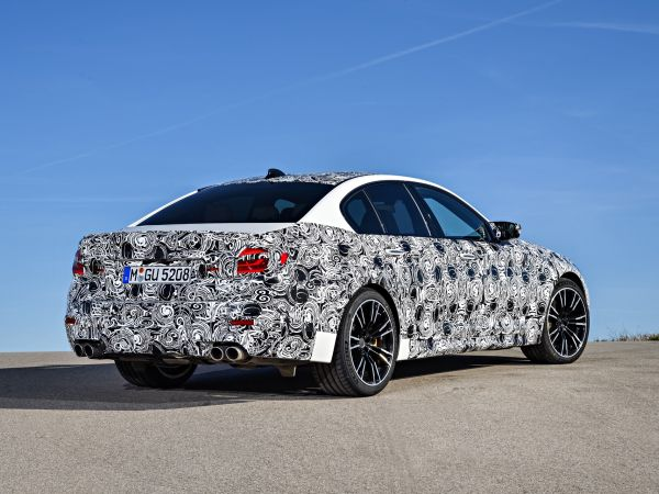 BMW M5 with M xDrive