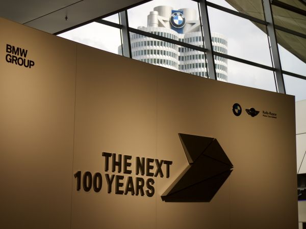"BMW Group ""VISION NEXT 100"""