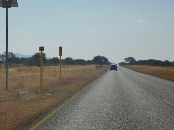 Speed camera in Namibia