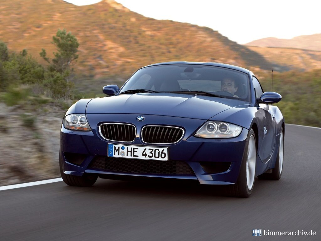 Model Archive for BMW models · BMW Z4 M Coupé · bmwarchive.org