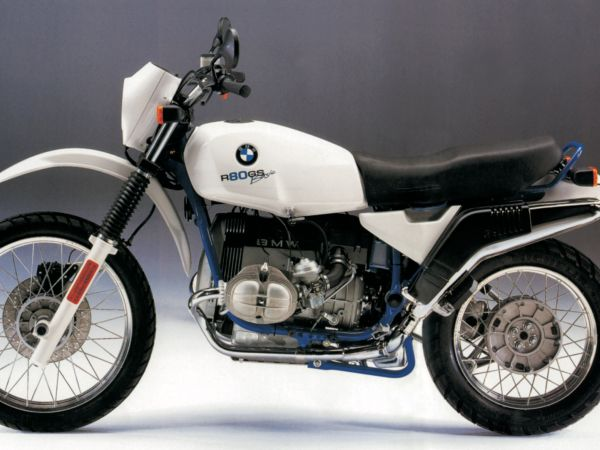 BMW GS History