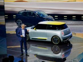 Peter Schwarzenbauer and the MINI Electric Concept