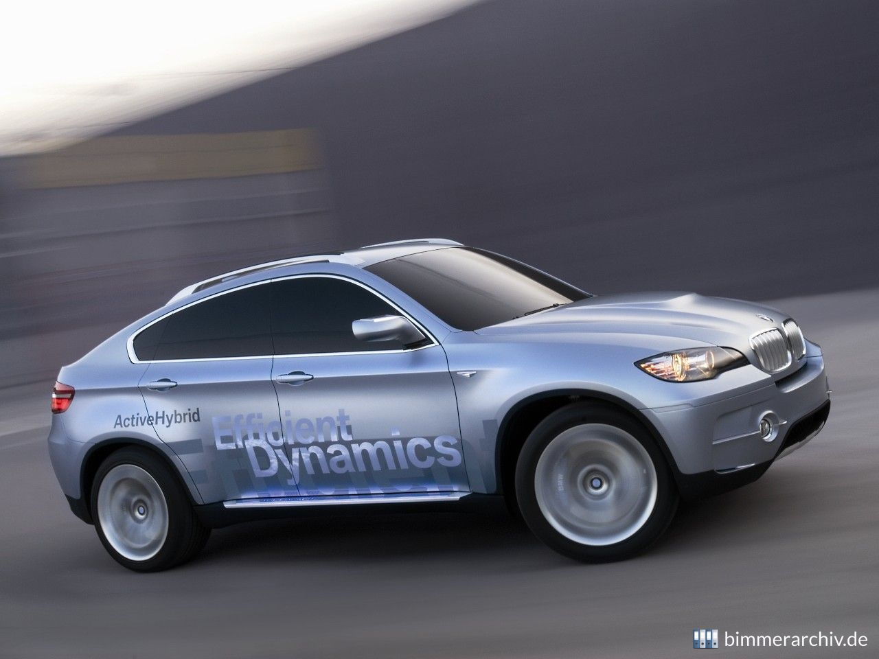 Model Archive for BMW models · BMW Concept X6 ActiveHybrid ...