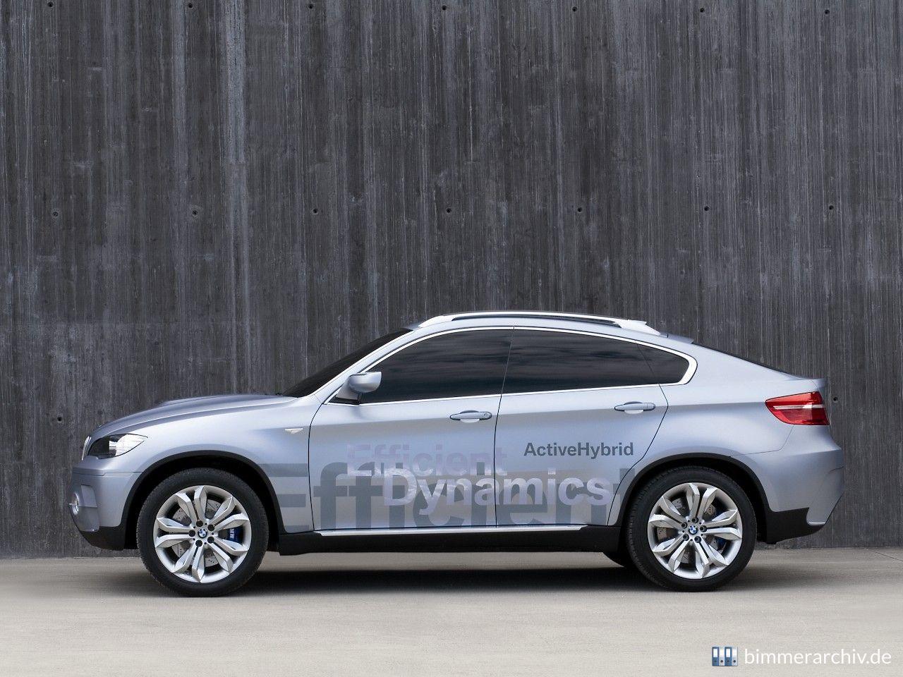 Model Archive for BMW models · BMW Concept X6 ActiveHybrid ...