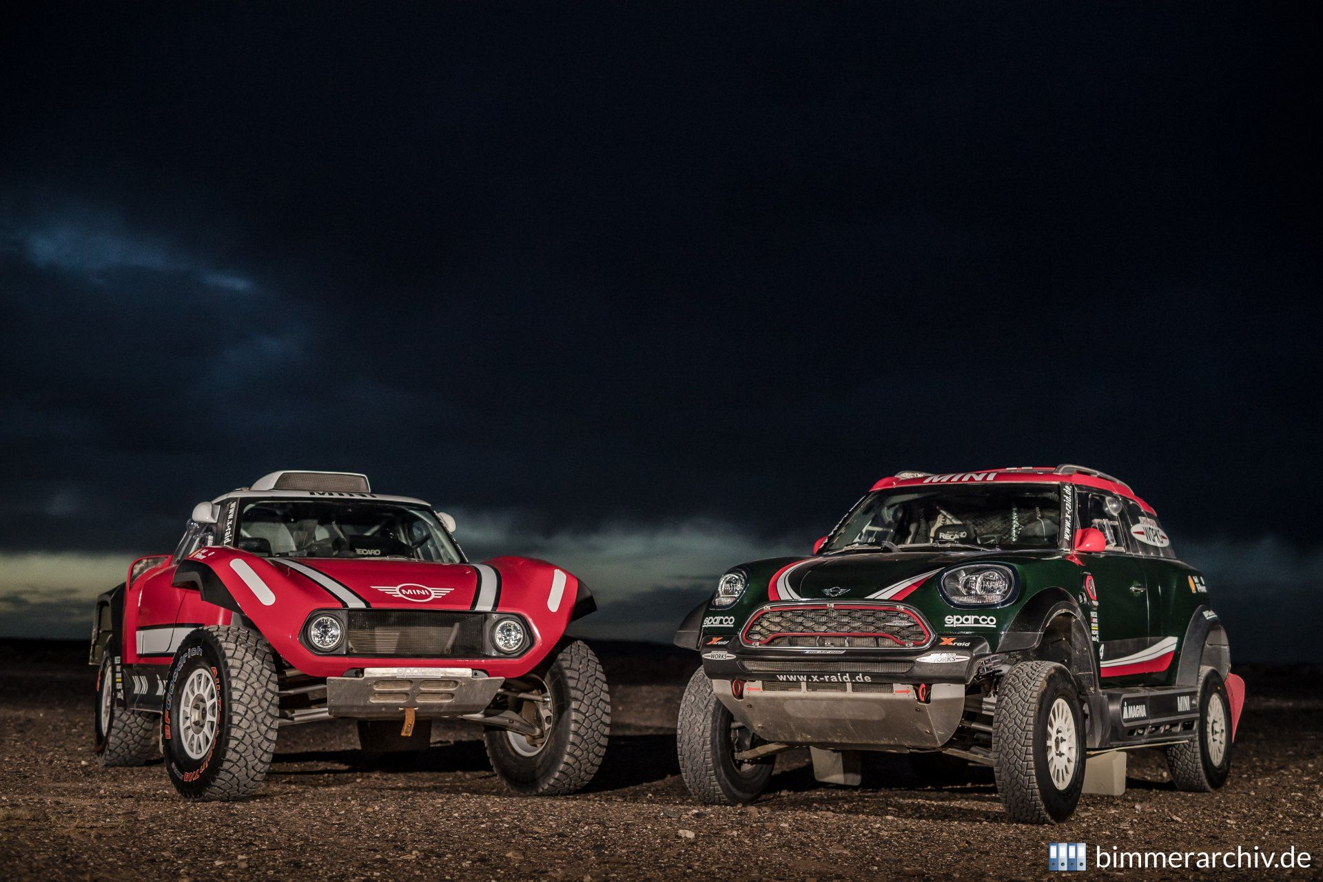 MINI John Cooper Works Rally and Buggy