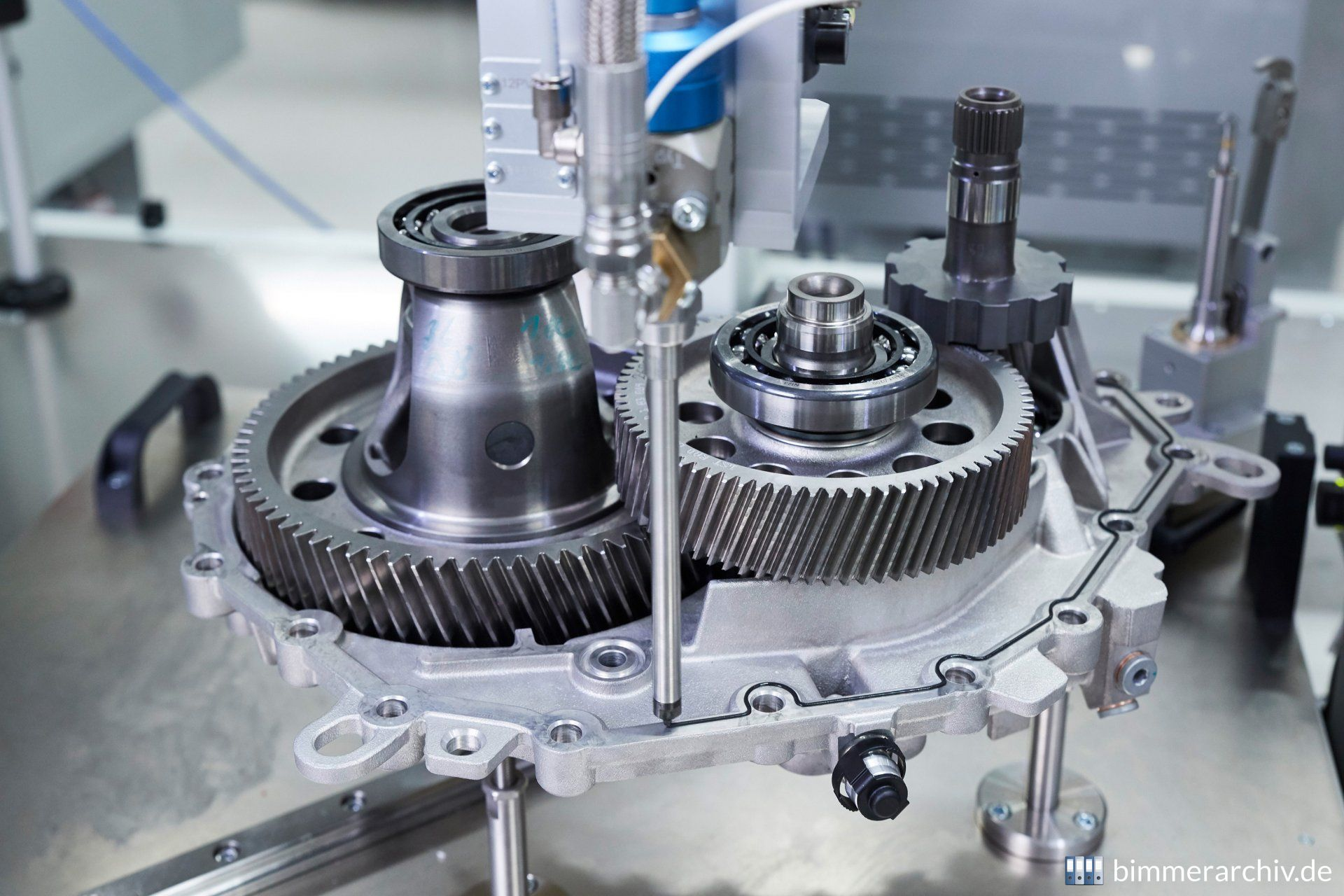Prototype production fifth-generation e-drive train