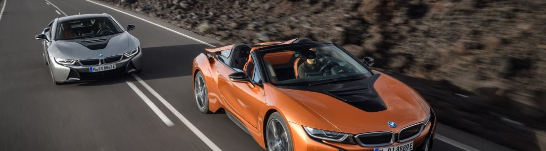 BMW i8 Roadster and i8 Coupé
