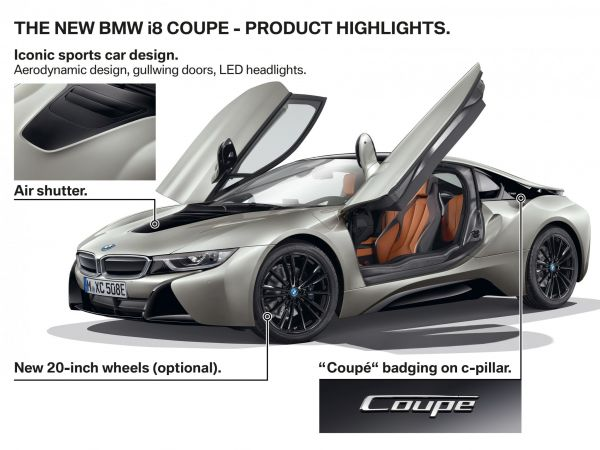BMW i8 Coupe - Highlights