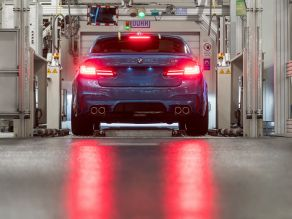 BMW M5 in the Plant Dingolfing