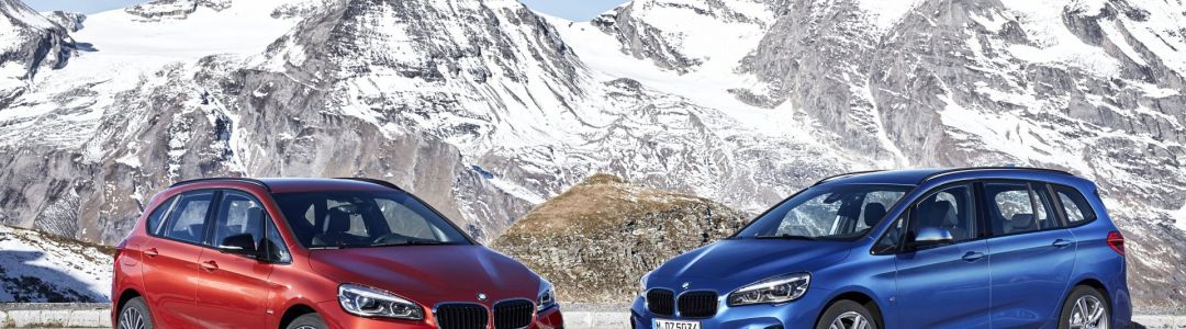 BMW 2 Series Active Tourer and Gran Tourer