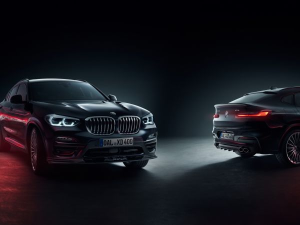 BMW Alpina XD3 and XD4