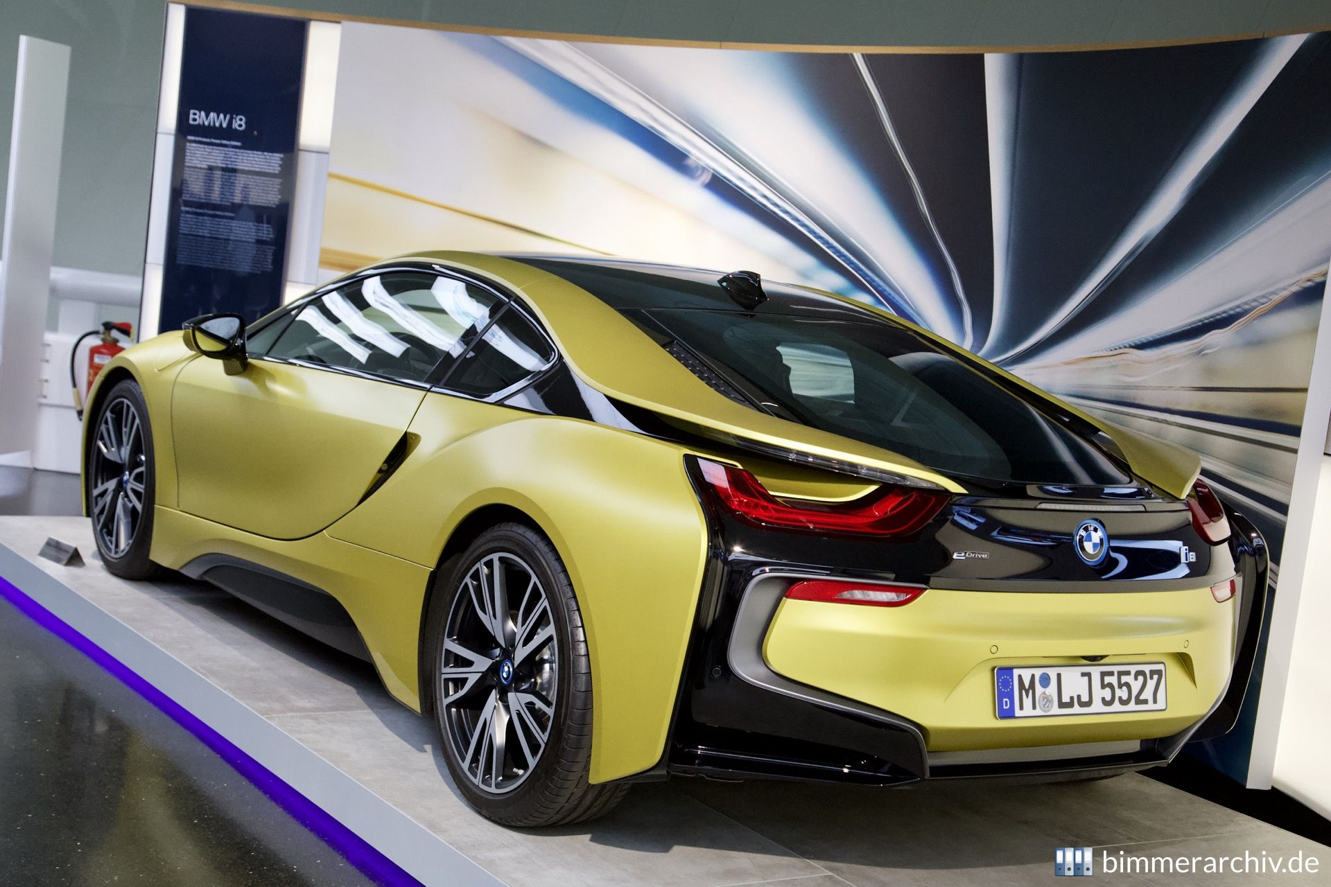 Model Archive For Bmw Models Bmw I8 Protonic Frozen Yellow