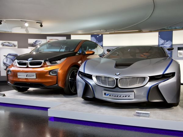 BMW i3 Concept Coupé and BMW Vision EfficientDynamics