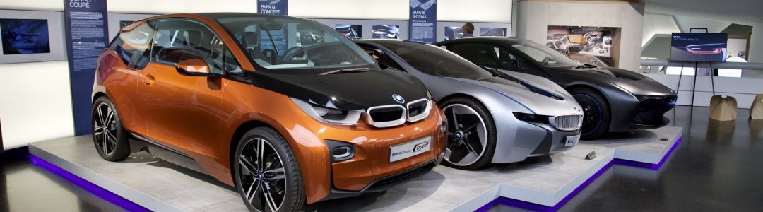 BMW i3 Concept Coupé, BMW Vision EfficientDynamics, BMW i8 Skyfall