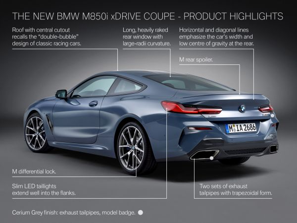 BMW M850i xDrive Coupé - Highlights