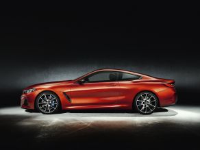 BMW 8 Series Coupe with optional carbon package