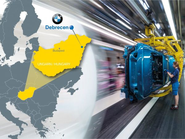 BMW Group Plant Debrecen