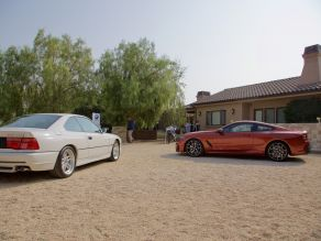 BMW 850 CSi and BMW M850i