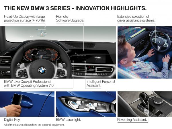 BMW 3 Series Sedan - Highlights