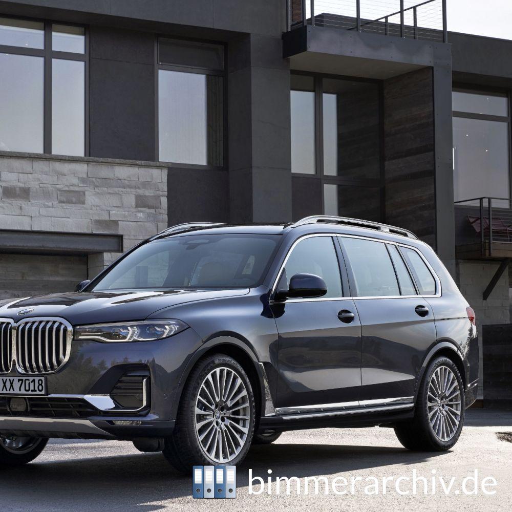 Bmw X7 2018: BMW G07 X7 XDrive40i SAV DesignPureExcellence